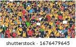 illustration of large... | Shutterstock .eps vector #1676479645