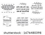 scripture  bible verses.... | Shutterstock .eps vector #1676480398
