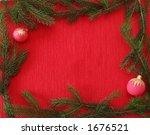 christmas frame | Shutterstock . vector #1676521