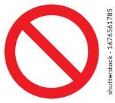 No Sign  Ban Vector Icon  Stop...