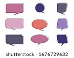 quote frames blank templates...   Shutterstock .eps vector #1676729632