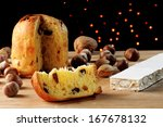 panettone is the traditional... | Shutterstock . vector #167678132