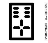 multimedia line icon remote dvd