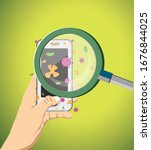 risk point infectious diseases... | Shutterstock .eps vector #1676844025
