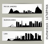 City Skylines Of Latin America...
