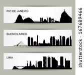 City Skylines Of Latin America...
