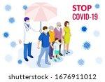 pandemic chinese coronavirus... | Shutterstock .eps vector #1676911012