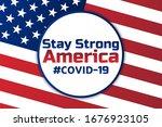 patriotic inspirational... | Shutterstock .eps vector #1676923105