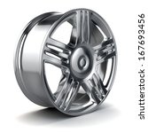 3d alloy wheel | Shutterstock . vector #167693456