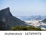 Spectacular view of Rio de Janeiro - stock photo