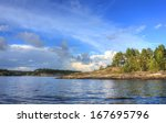 ladoga lake  karelia  russia   Shutterstock . vector #167695796