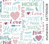 seamless christian colorful... | Shutterstock .eps vector #1677005638