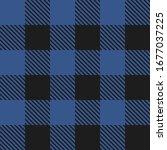 lumberjack plaid seamless... | Shutterstock . vector #1677037225