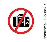 travel icon. concept suspension ... | Shutterstock .eps vector #1677106915