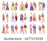 fashion history clothing design ... | Shutterstock .eps vector #1677273535