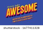 vintage 3d premium rich... | Shutterstock .eps vector #1677411328
