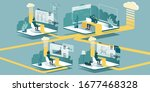 technical vector illustration... | Shutterstock .eps vector #1677468328