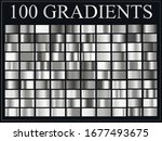 big set with metal  silver ... | Shutterstock .eps vector #1677493675
