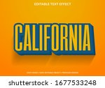 simple retro text effect... | Shutterstock .eps vector #1677533248
