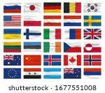 Set Of Flag Icon And Logo....