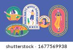 retro summer badge vintage... | Shutterstock .eps vector #1677569938