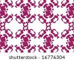decorative wallpaper design in... | Shutterstock .eps vector #16776304