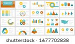 set of yellow  blue  orange and ...   Shutterstock .eps vector #1677702838