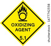 Oxidizing Agent Caution Sign....