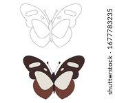 vector  isolated  outline... | Shutterstock .eps vector #1677783235
