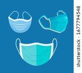 breathing medical respiratory... | Shutterstock .eps vector #1677794548