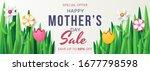 happy mother's day sale banner... | Shutterstock .eps vector #1677798598
