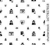 couple icons pattern seamless.... | Shutterstock .eps vector #1677827818