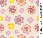 vector seamless pattern of...   Shutterstock .eps vector #1678001812