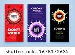 coronavirus covid 19 sars cov 2 ... | Shutterstock .eps vector #1678172635