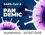 coronavirus covid 19 sars cov 2 ... | Shutterstock .eps vector #1678172638