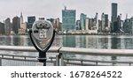 Panorama Of Tourist Binoculars...