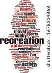 recreation word cloud concept.... | Shutterstock .eps vector #1678314868