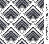 vector abstract rhombus... | Shutterstock .eps vector #1678339915