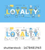 vector illustration of loyalty... | Shutterstock .eps vector #1678481965