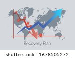 recovery plan from covid 19... | Shutterstock .eps vector #1678505272