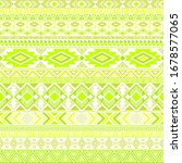 mayan american indian pattern... | Shutterstock .eps vector #1678577065