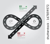 street   road business... | Shutterstock .eps vector #167859572