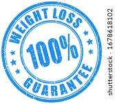 Weight Loss Guarantee Vector...