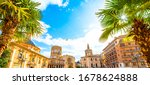 valencia old town wide... | Shutterstock . vector #1678624888