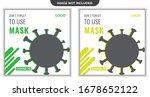 social banner for covid 19... | Shutterstock .eps vector #1678652122