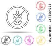 gluten free multi color set...