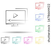 video tutorials multi color set ...