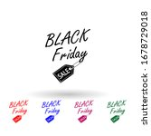 black friday sticker multi...