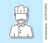cook avatar sticker icon....
