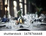 Beautiful Table Set For An...
